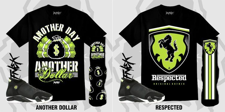"c75b57f665e Original RUFNEK Sneaker Outfits to Match the Air Jordan 14 Retro ""Indiglo"""