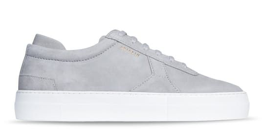 27f822ccbde Platform Sneaker - Light Grey Suede Leather by Axel Arigato