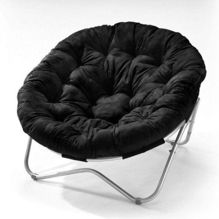 Oval Roundabout Papasan Chair in Black Furniture - Cheap Black Furniture