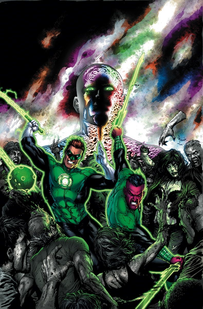 Green Lantern - Wrath of the First Lantern by Gary Frank *
