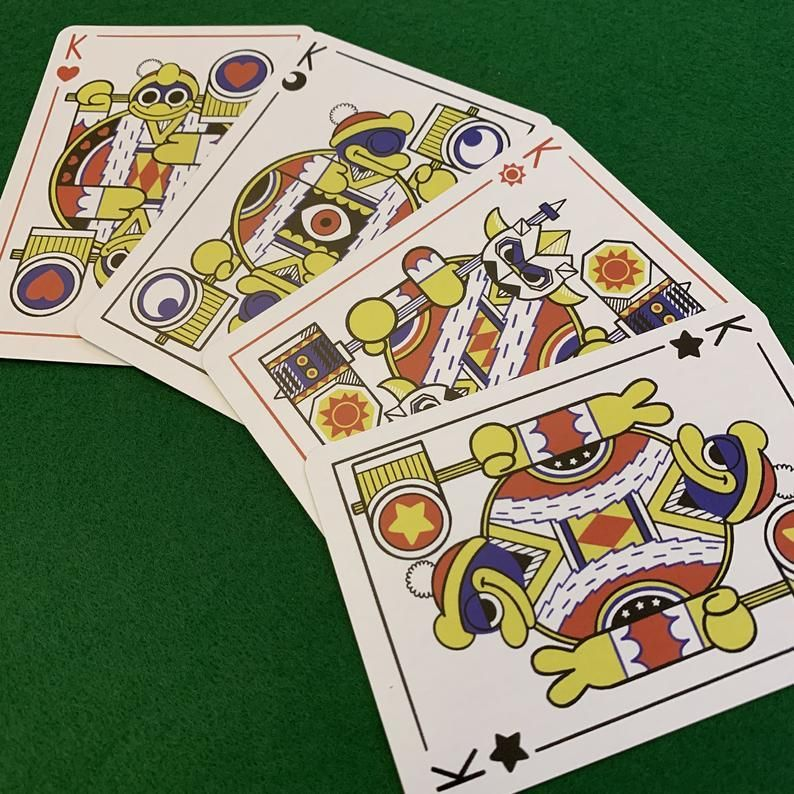 Kirby Playing Cards made by Kurt Snyder -