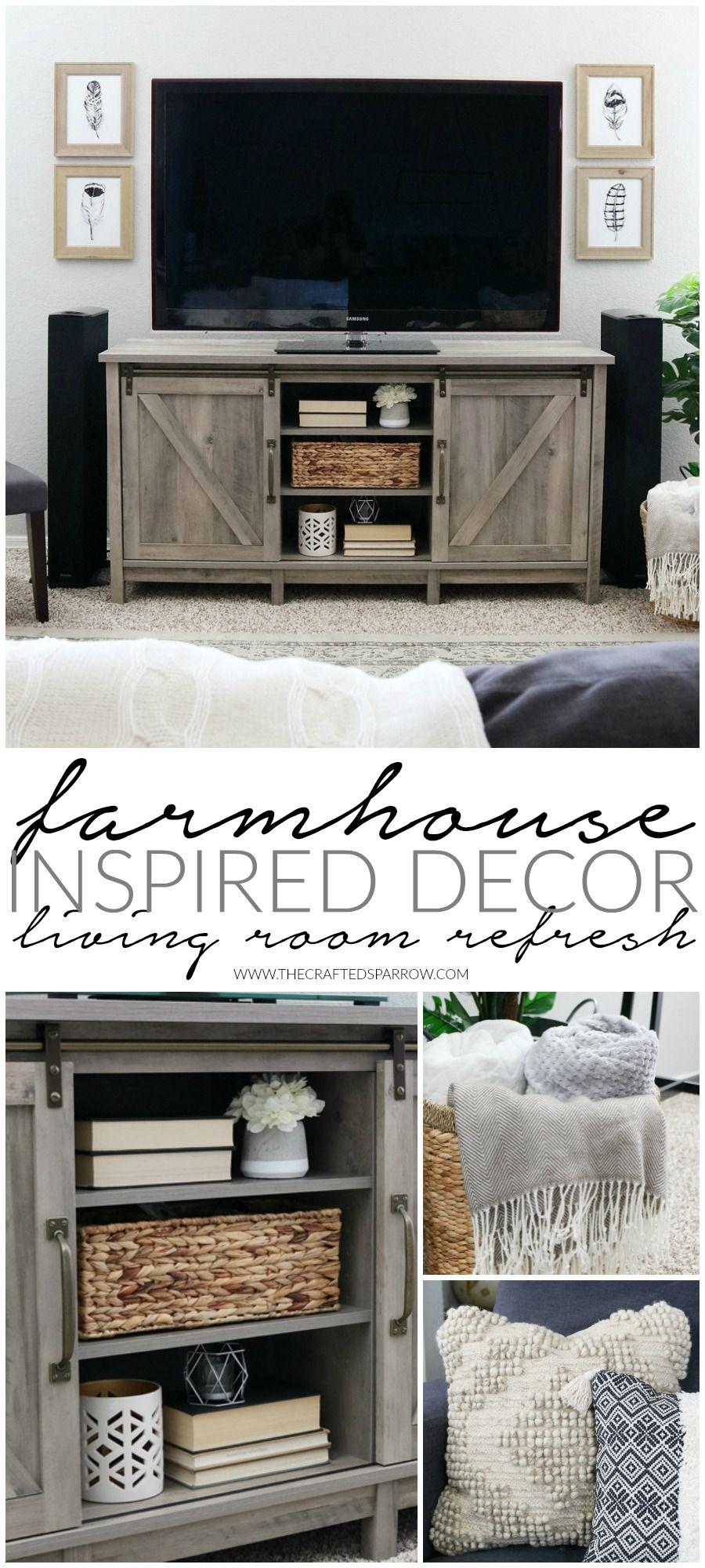 Inspired Decor Living Room Refresh
