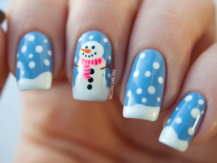 Winter Nails - Snowy the Snowman - Winter Nails - Snowy The Snowman Opi Strawberry Margarita