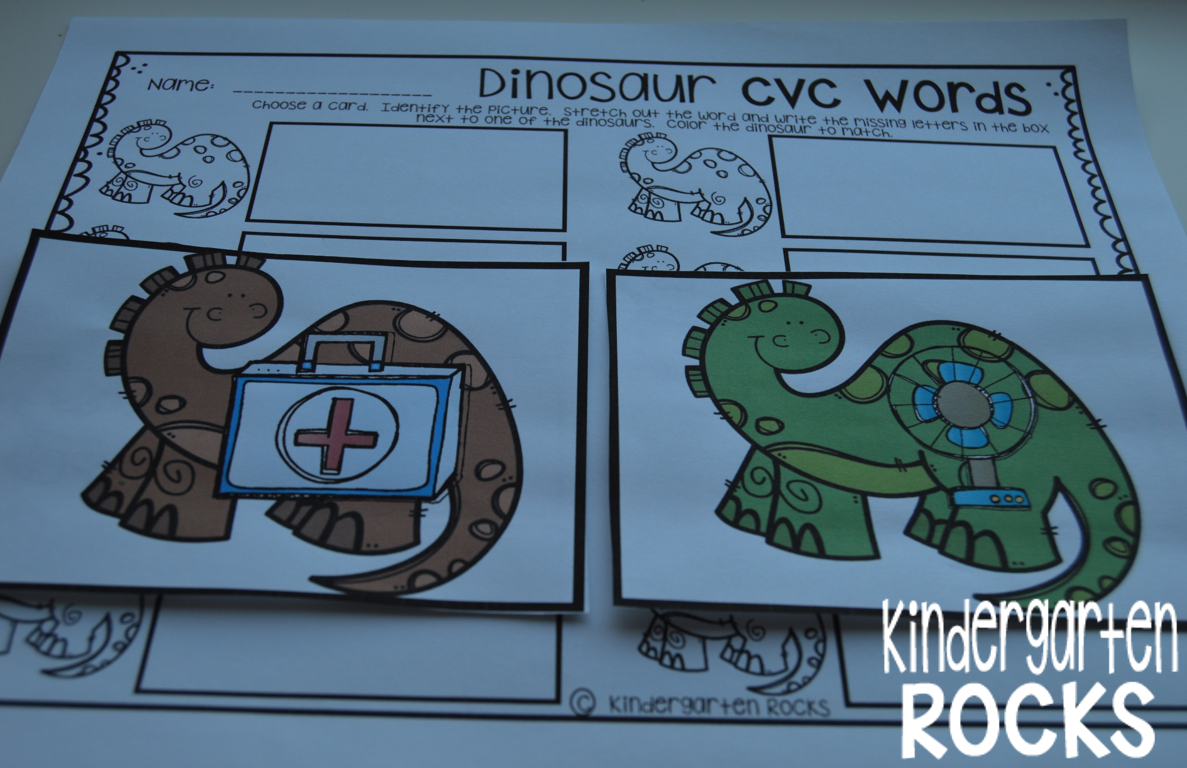 Dinosaur Math And Literacy Centers Ccss