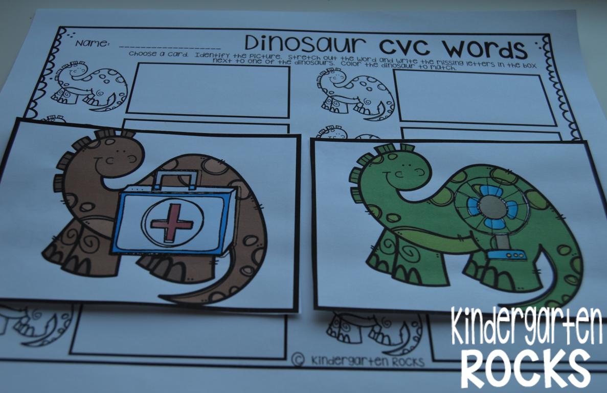 Dinosaur Math And Literacy Centers Ccss