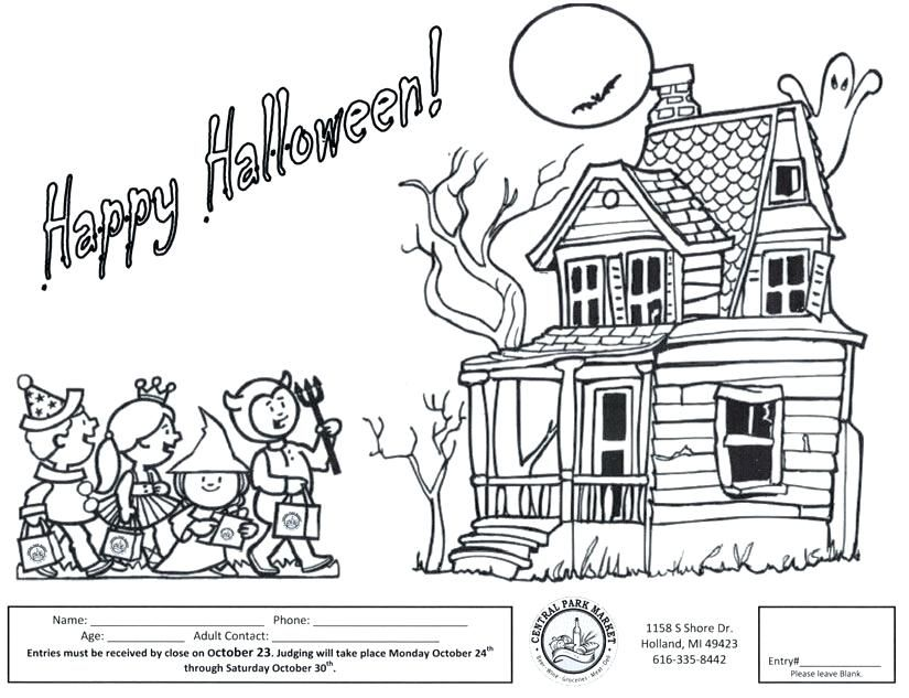 Halloween Coloring Contest Pages Coloring Contest Coloring Contest Pages Free Coloring Contest Free Halloween Coloring Pages Halloween Coloring Pages Printable