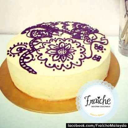 Henna Cake Carrot Walnut Cake With Lemon Cream Cheese Frosting