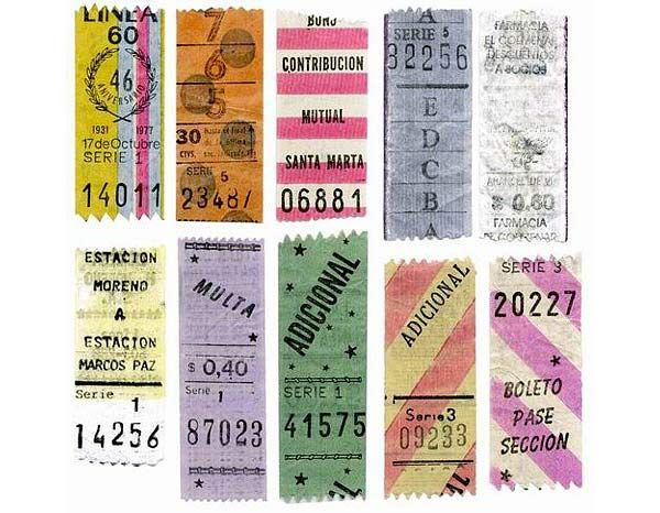 old tickets