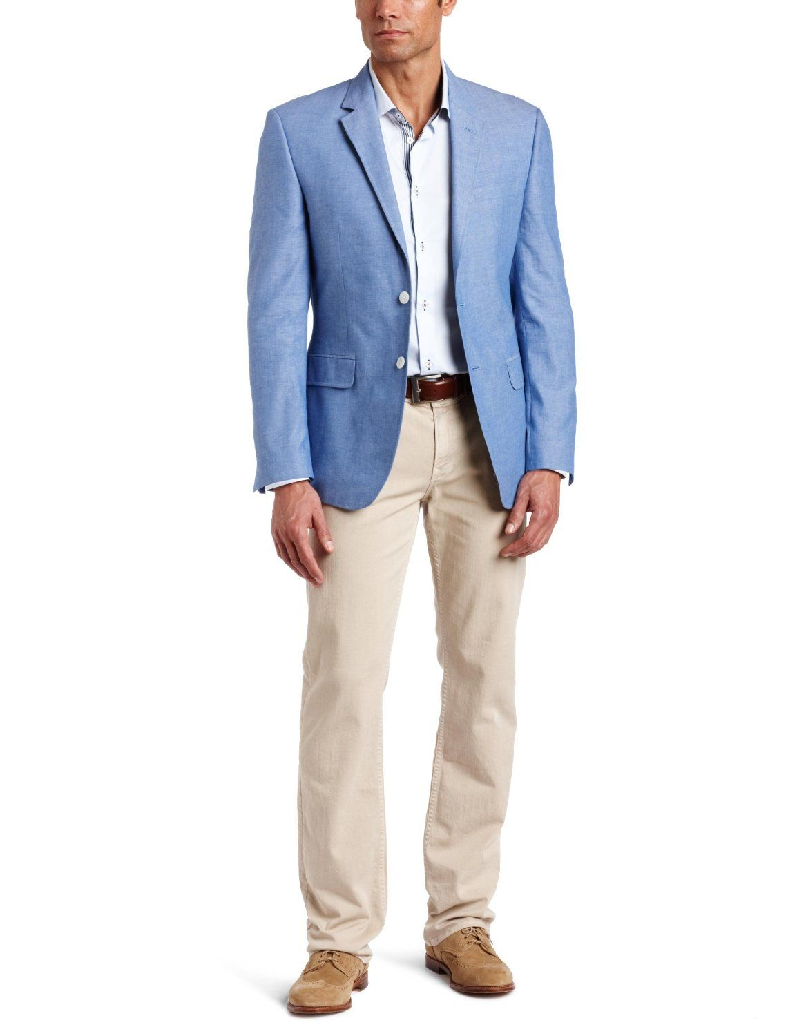Light Blue Sports Jacket