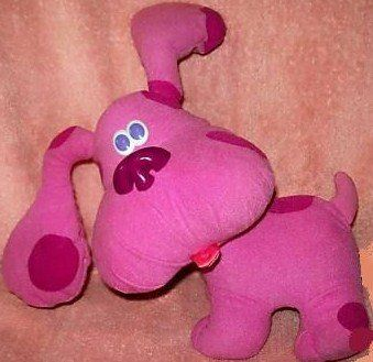 Tyco Childs Blues Clues Magenta Musical Talking Dog Toy Tyco Http