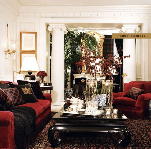 Ralph Lauren Home Noble Estate Collection 7 Living Room British Colonial Style Pinterest