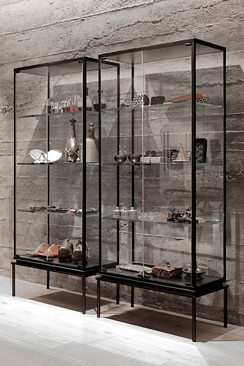 Image Result For Home Zone Double Glass Display Cabinet