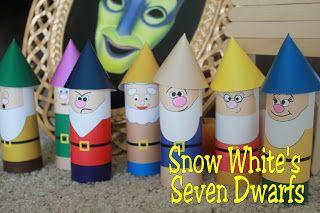 Kandy Kreations: Snow White's Seven Dwarfs