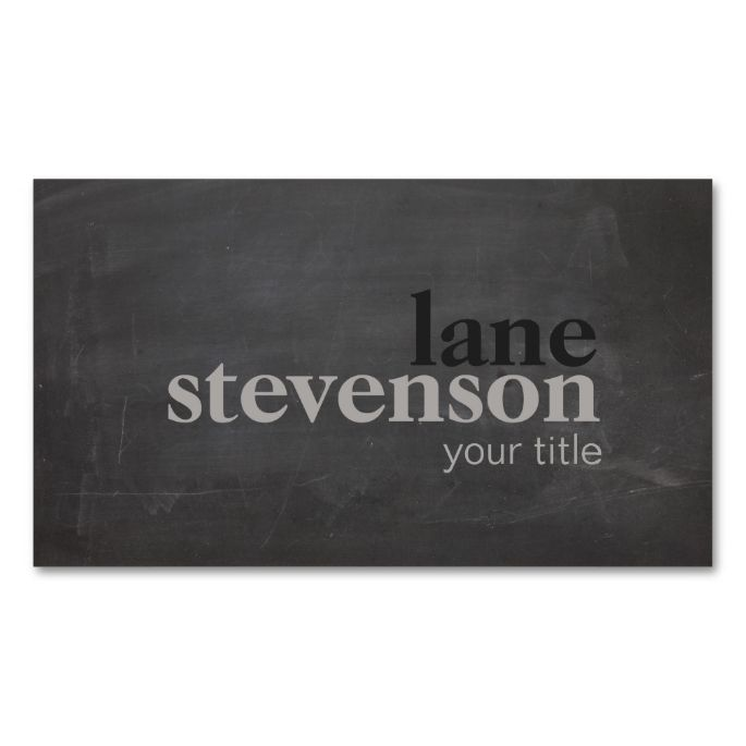 Simple and modern bold font weathered black double sided standard simple and modern bold font weathered black double sided standard business cards pack of colourmoves