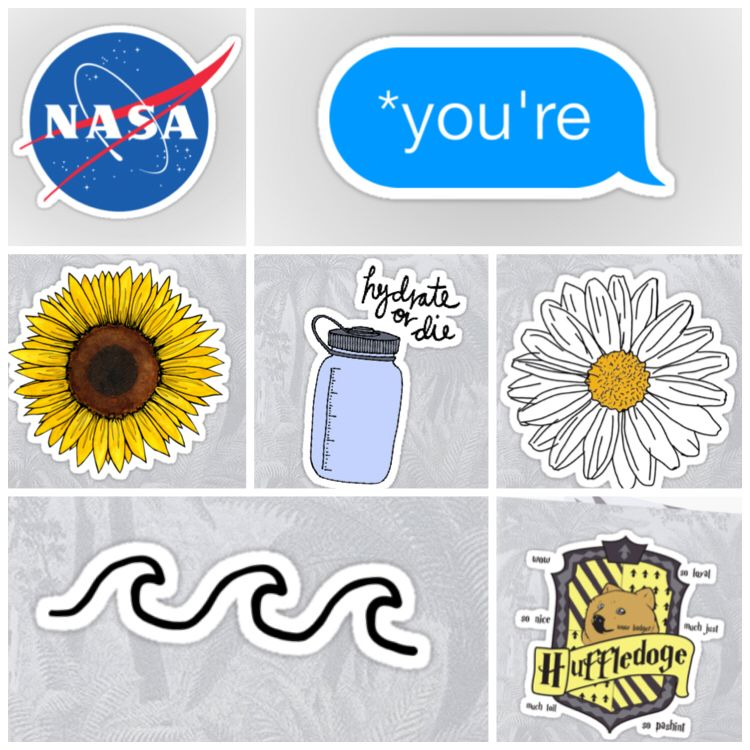 It's just a picture of Playful Hydro Flask Stickers Printable