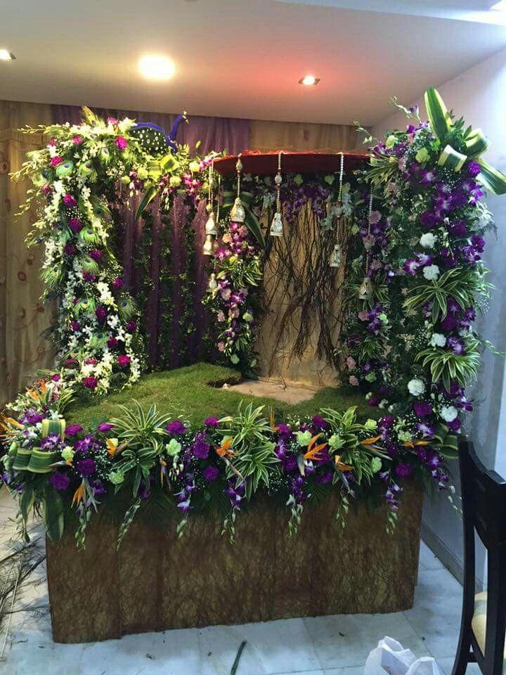 Pin by Sneh on ganpati decorations | Ganpati decoration at ...