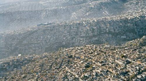 Slums On The Outskirts Of Mexico City City Landscape City Mexico City