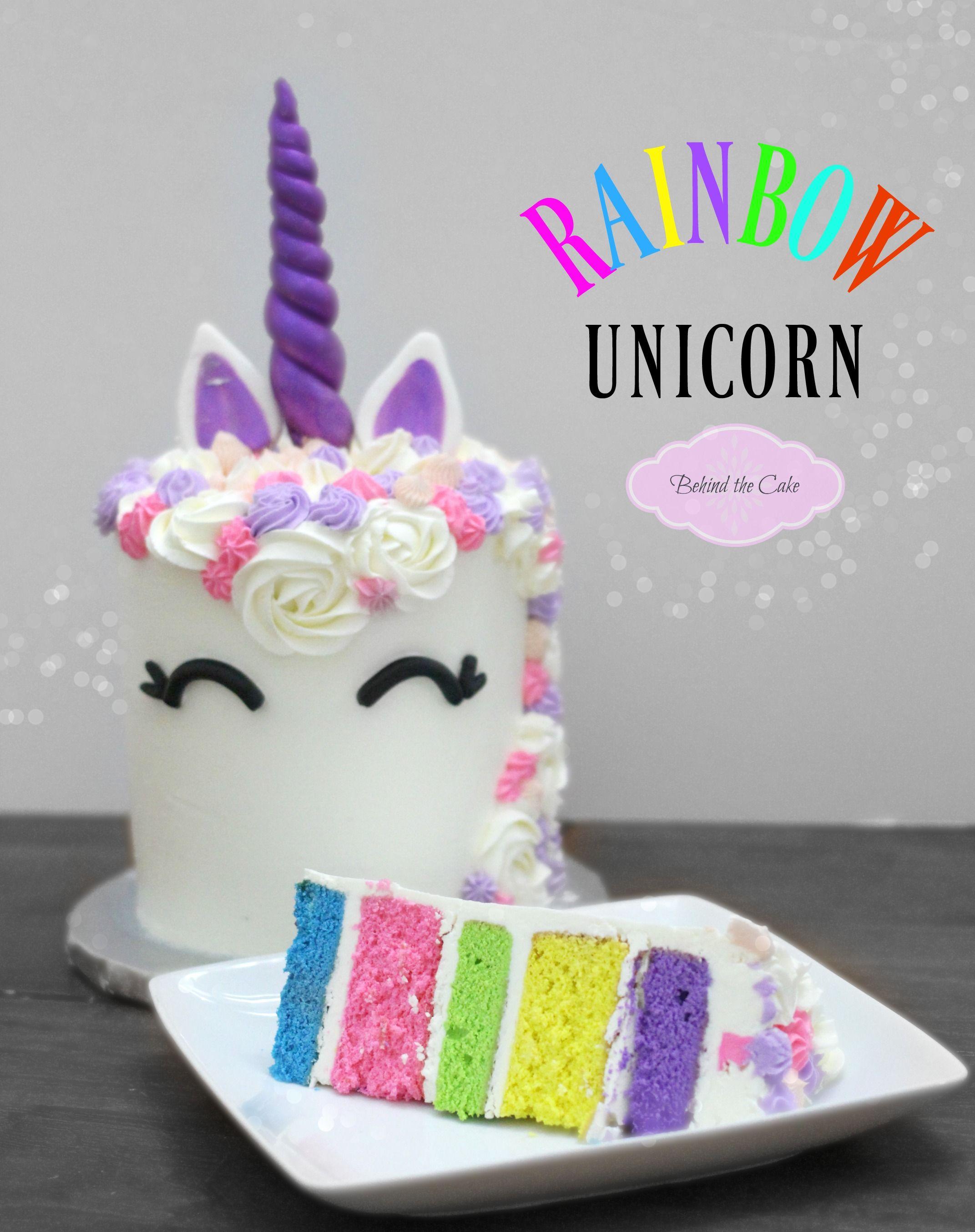 How To Paint A Rainbow Unicorn Unicorn Painting Unicorn Drawing