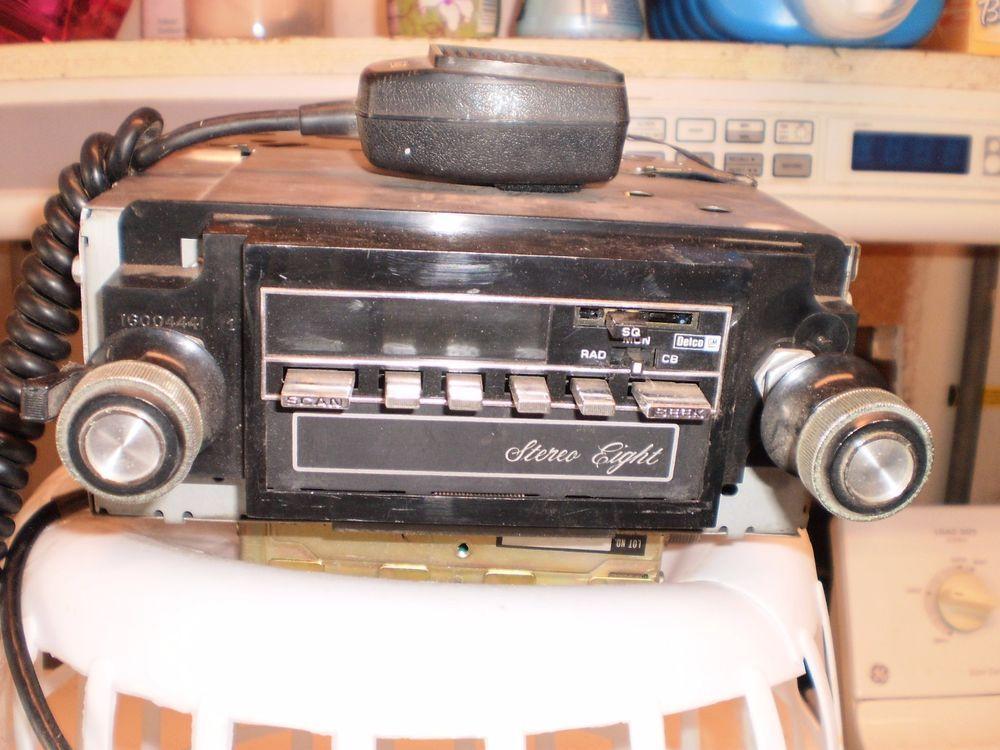 78 79 80 Corvette Factory Amfm Cb 8 Track Stereo Radio 7880 Rare Rhpinterest: 8 Track Radio 1979 Pontiac At Elf-jo.com
