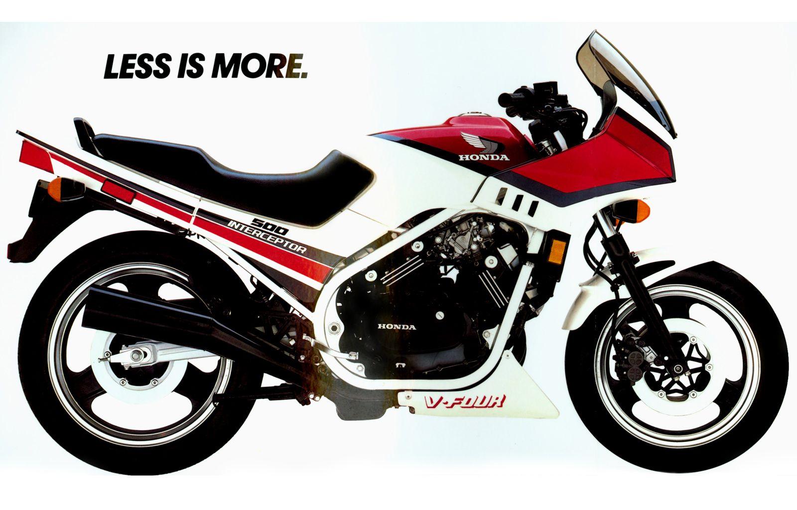 1984 Honda VF500F Interceptor I had one of these. Awesome Bike!