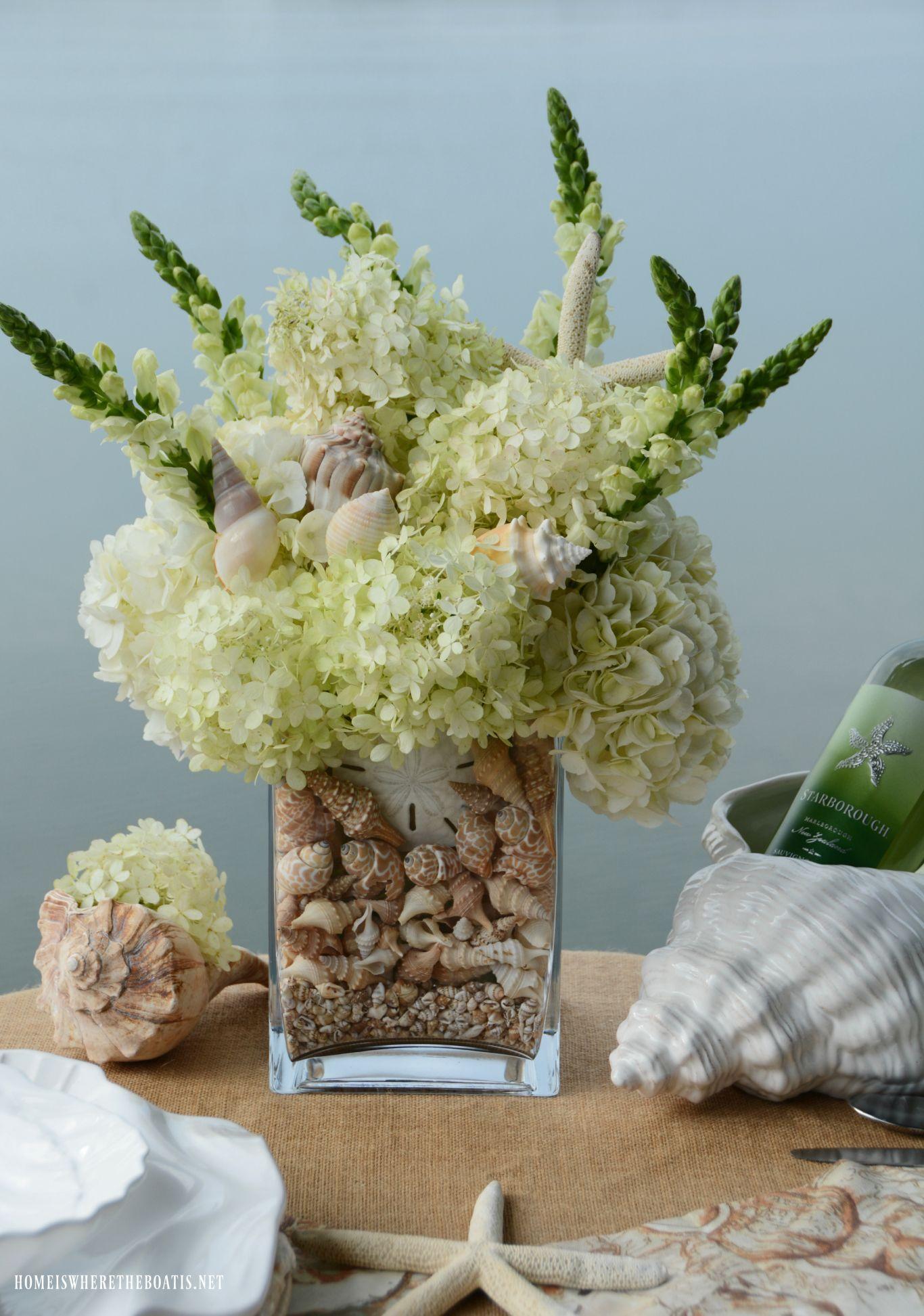 Dockside Lakeside And Seaside Table For Two Summer Flower