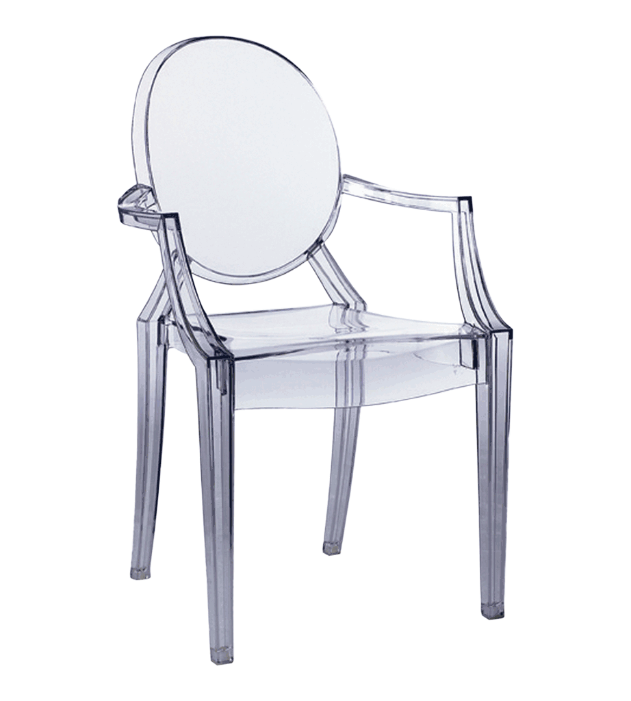LOUIS GHOST CHAIR TRANSPARENT  Chairs  Chairs  Stools
