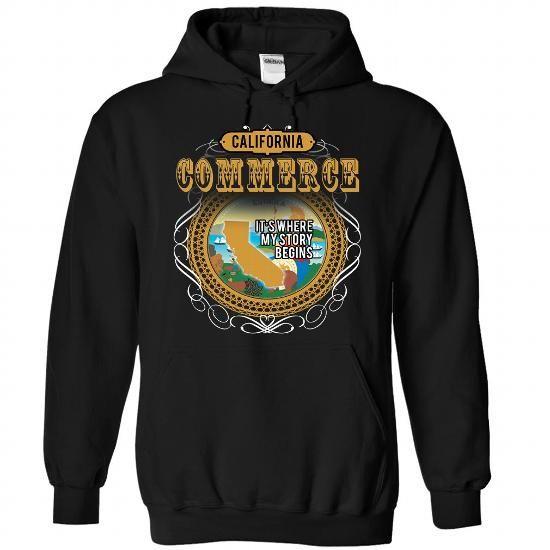 COMMERCE T Shirts, Hoodies Sweatshirts. Check price ==► https://www.sunfrog.com/Camping/1-Black-83853314-Hoodie.html?57074