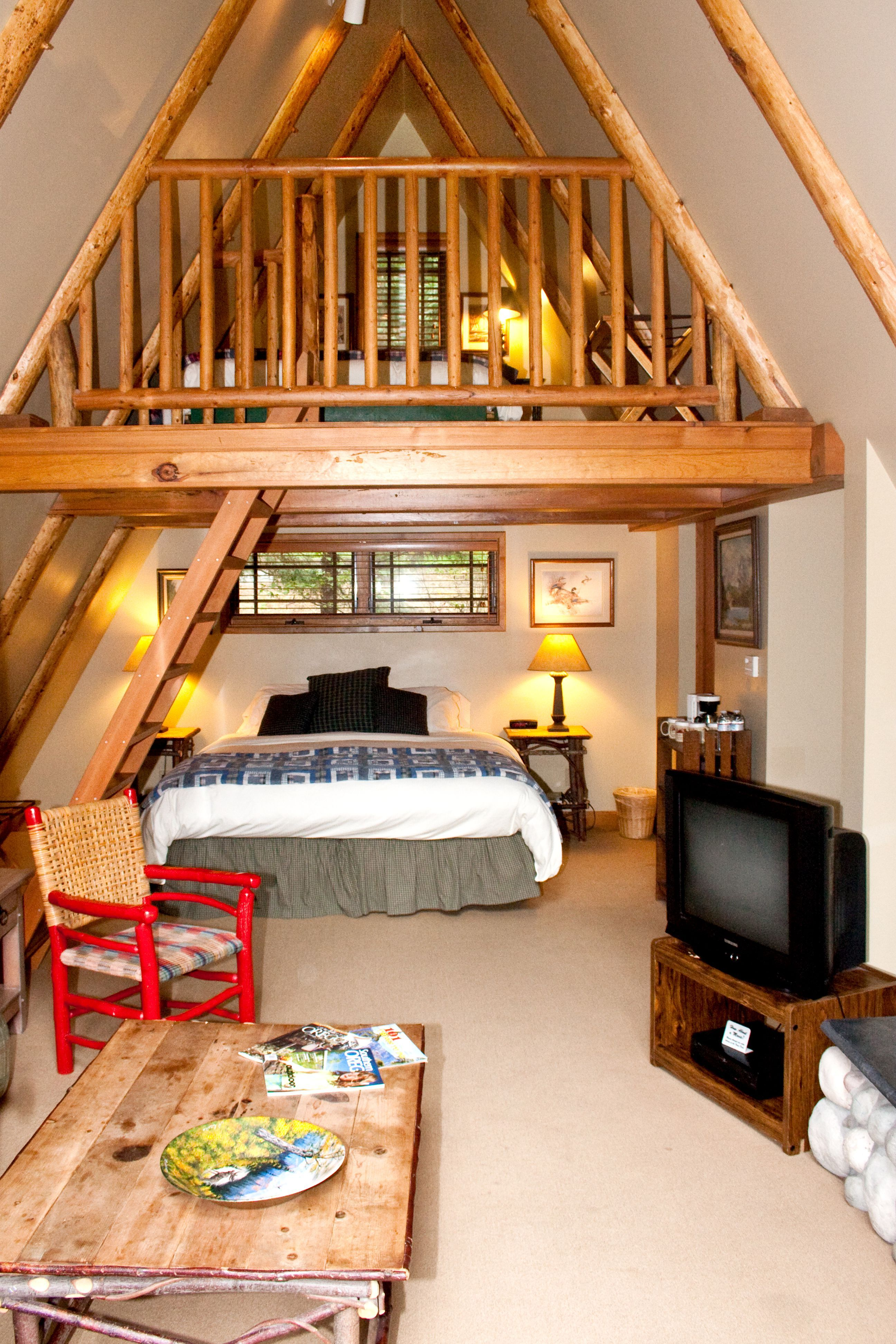 The Weasku Inn - A-Frame  A frame house, A frame cabin, Tiny