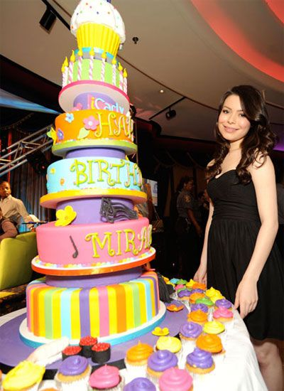 Best Celebrity Birthday Cakes Teen Stars Birthday Parties Amazing