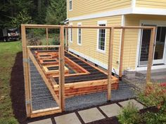 Enclosed Raised Bed -   22 enclosed garden beds ideas