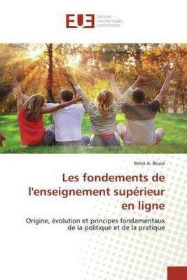 Photo of Les fondements de l'enseignement supérieur en ligne. Peter A…