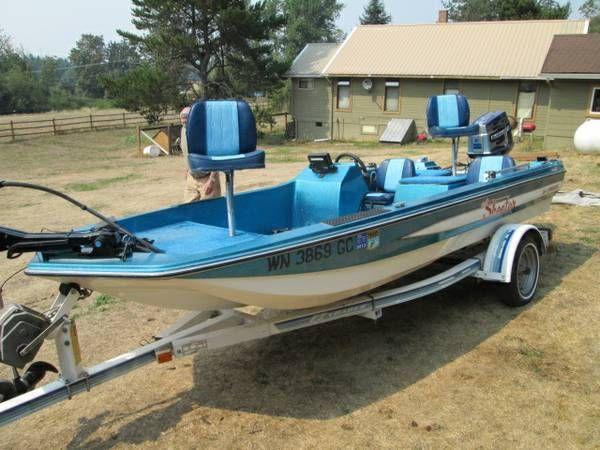 Skeeter Bass Boat 1983 15' Ssi Fisherman $4995 Ravensdale ...