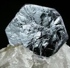 molybdenite - MoS2
