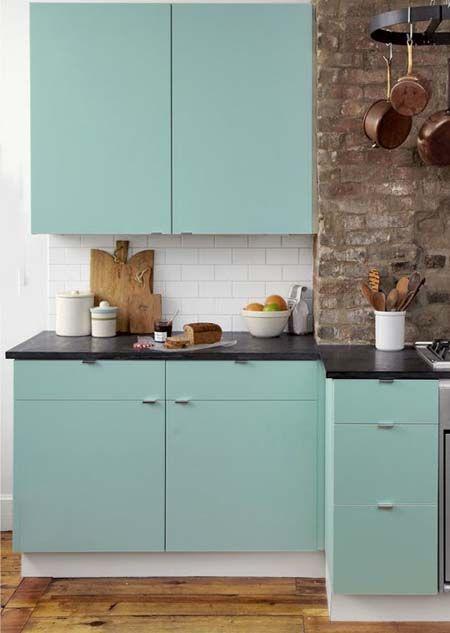 5 ideas para decorar los muebles de cocina con papel pintado ...