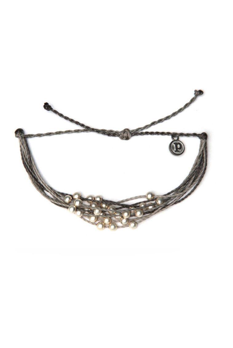 Pura Vida Bracelets Platinum Grey | SHOP NOW 2110 S Lamar ATX 78704 | stillandsea.com