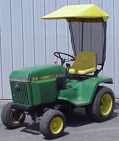 Sunshade Fits John Deere 300 And 400
