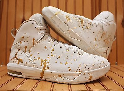 competitive price 35ae1 70309 Nike Air Jordan Imminent Size 10 - Custom Gold White - 705077 100