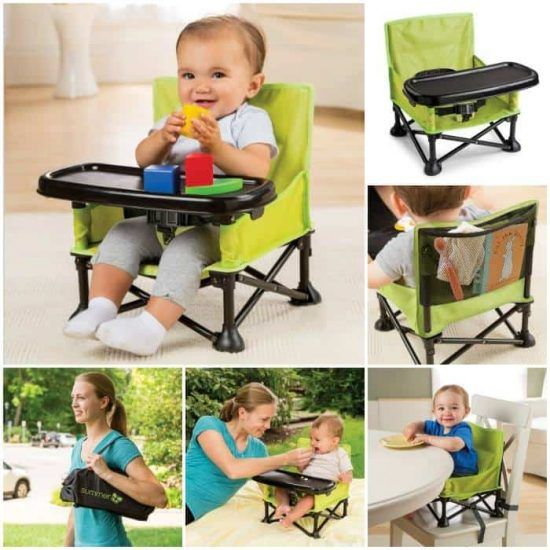 Portable High Chair Seat Will Come In Very Handy Portable High