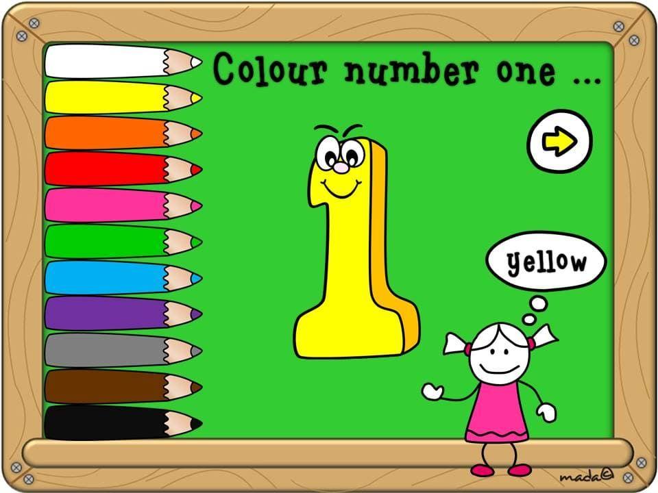 بوربوينت Colours And Numbers With Sound للاطفال بطريقة ممتعة Bart Simpson Character Comics