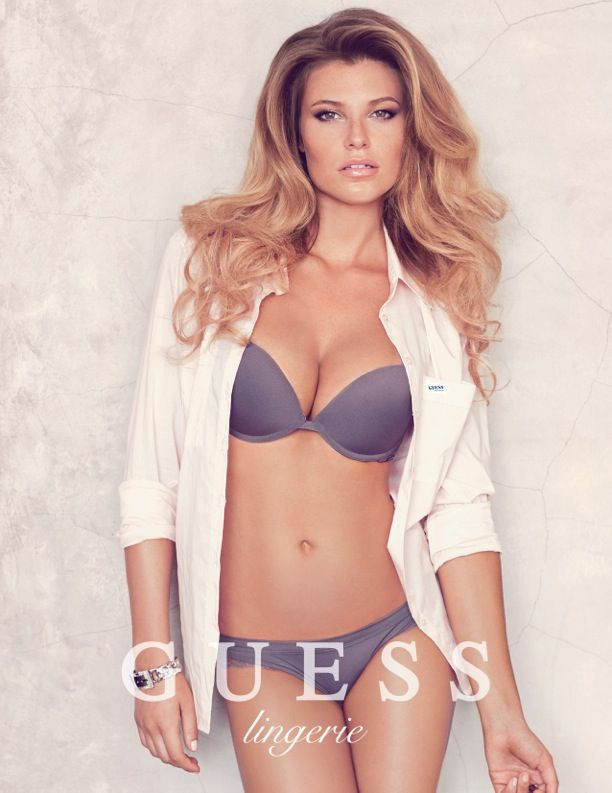 aad7349eae441 Samantha Hoopes Sizzles for Guess Lingerie Spring 2014 Campaign ...