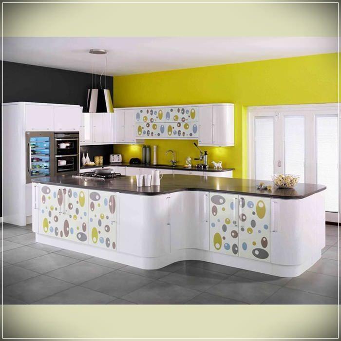 Dream Kitchen Bhopal: Beyaz-cicek-motifli-desenli-mutfak-dolaplari-2015