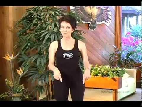 How to burn Back Fat, , and Tone Your Upper Body with At Home Fitness DVD workout program