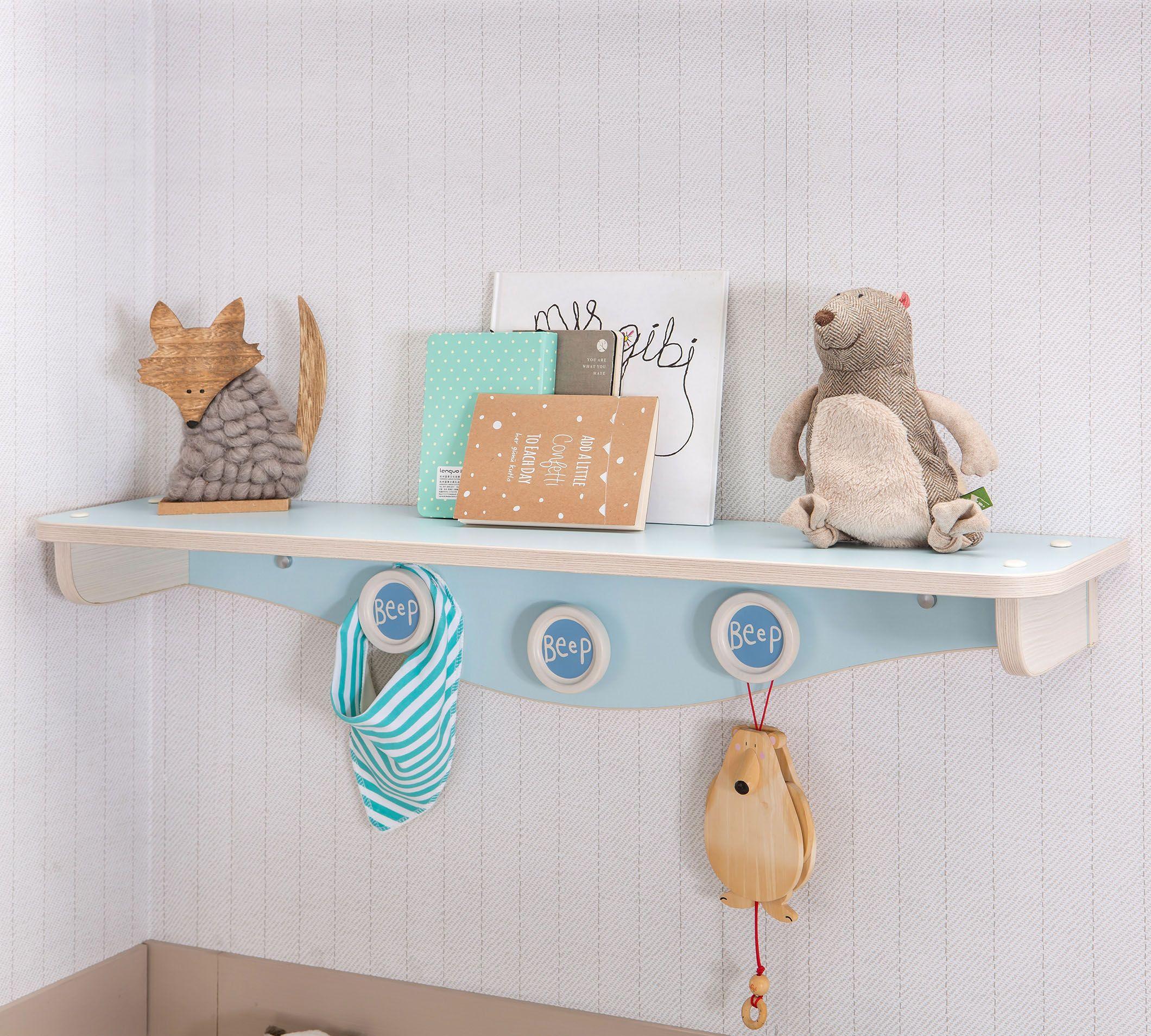 Blauwe Baby Accessoires.Babykamer Wandschap Blauw Baby Kamer Inspiratie Babykamer