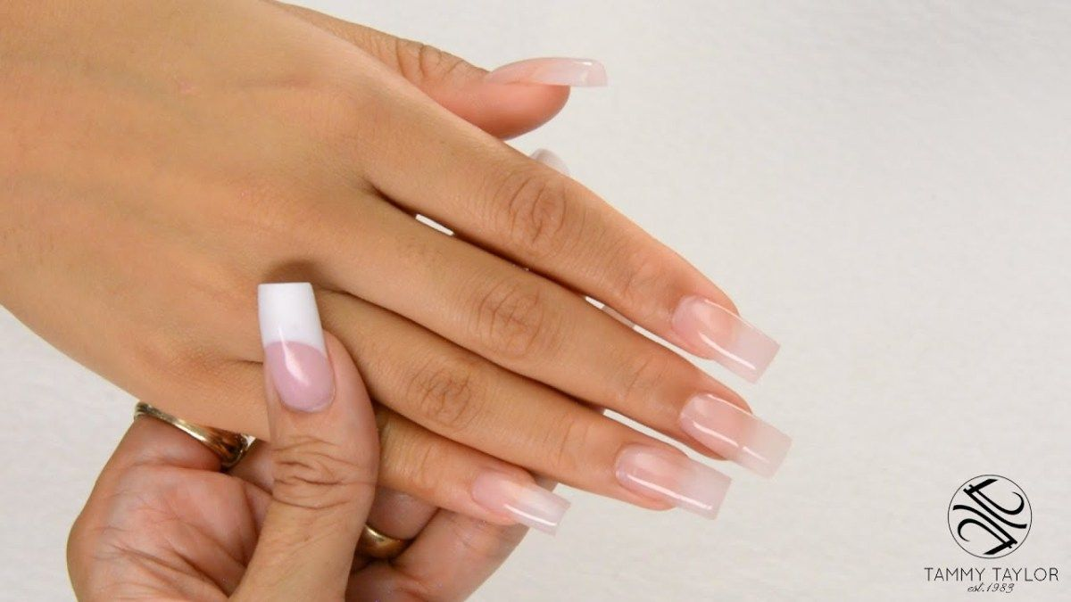 How To: Square Sculptured Nails | Nails | Pinterest | Squares ...