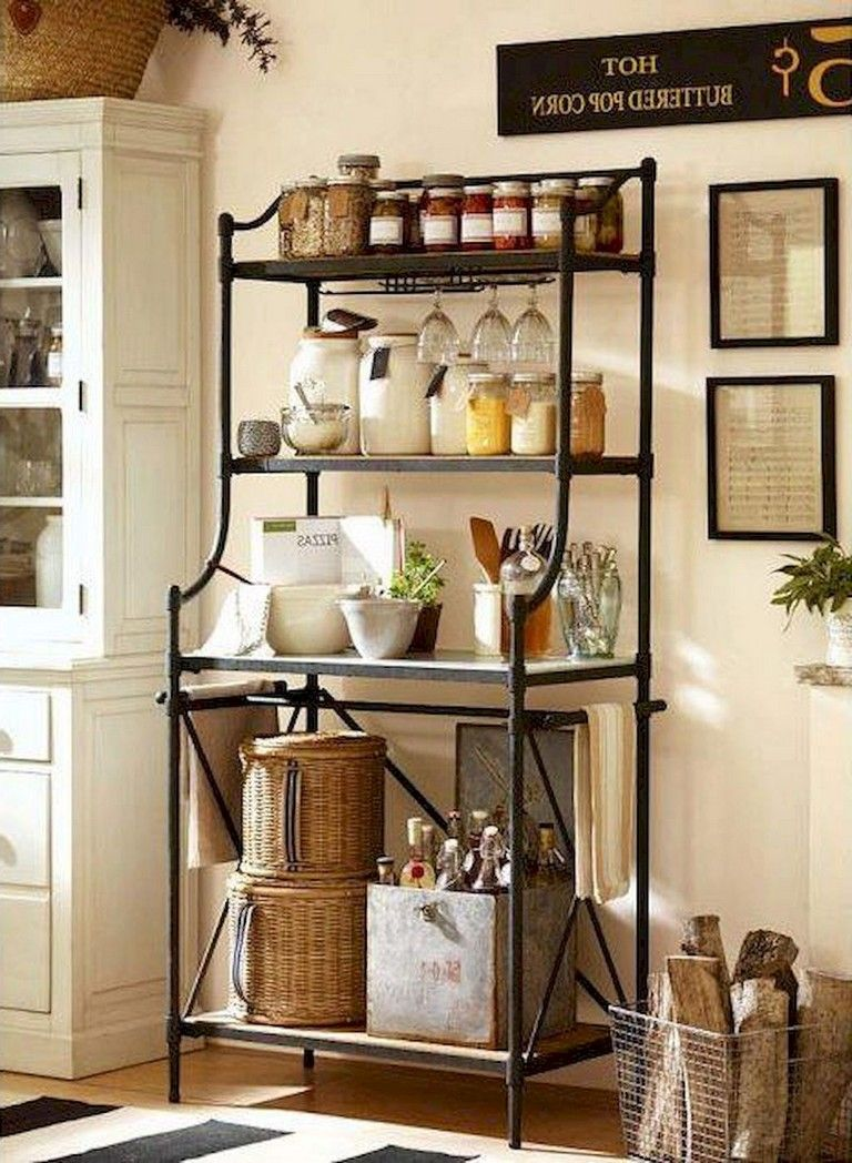 44 Brilliant Solution Standing Rack Kitchen Decor Ideas Tuscan