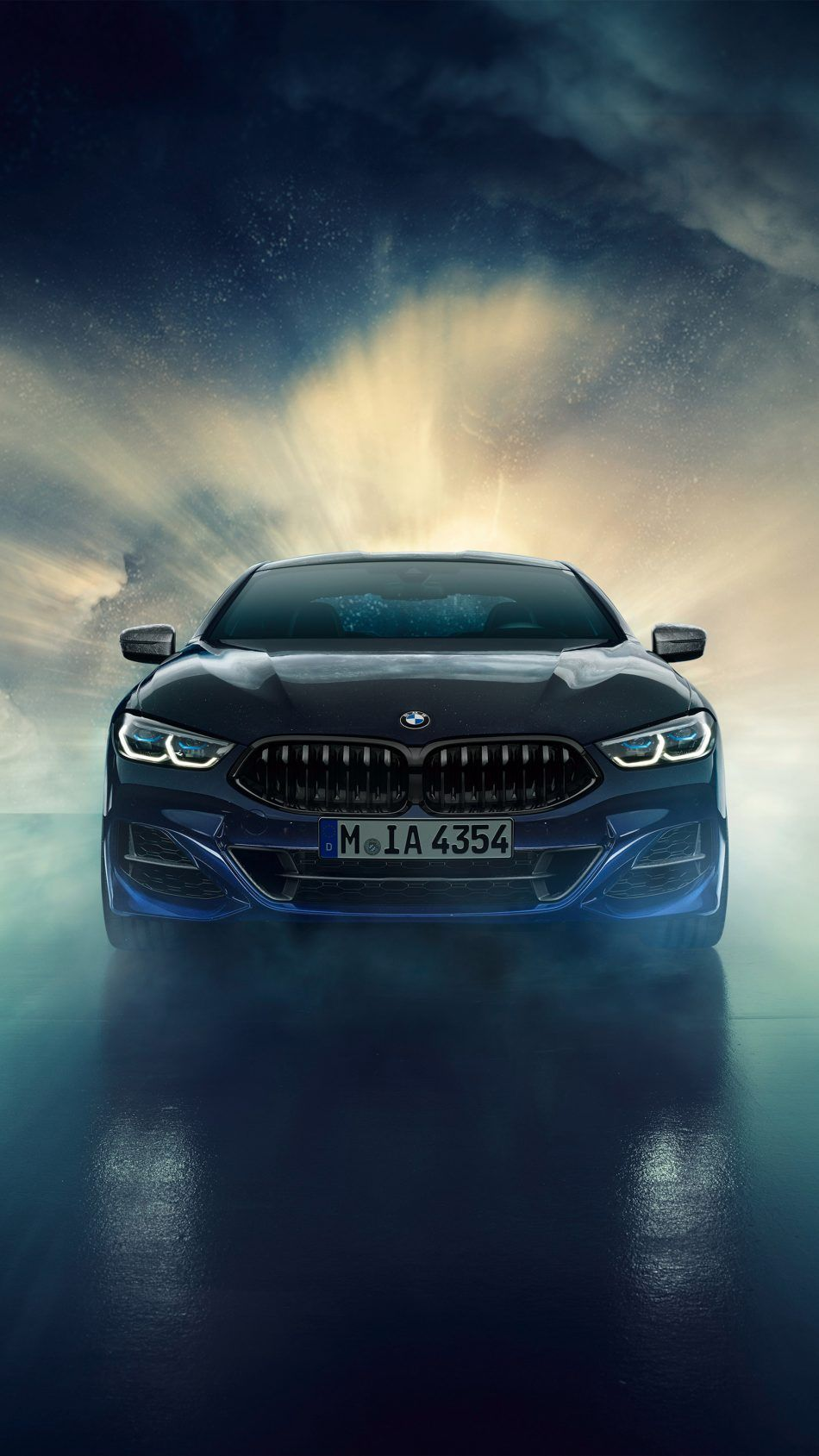 Bmw Individual M850i Xdrive Night Sky Bmw Wallpapers Bmw Car