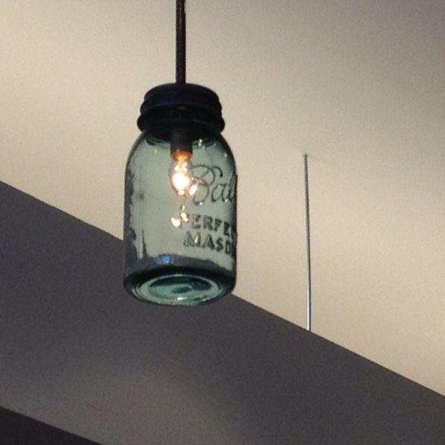 Mason jar light fixture | Decor | Pinterest | Mason jar ...