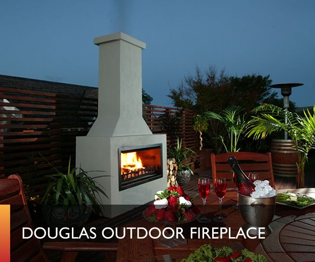 Douglas Outdoor Fireplaces Outdoor Fireplaces Pinterest