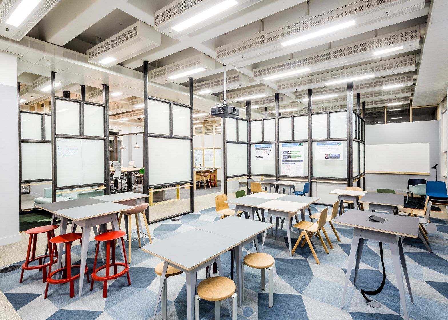 Apa Designs Raw Collaborative Office Space For