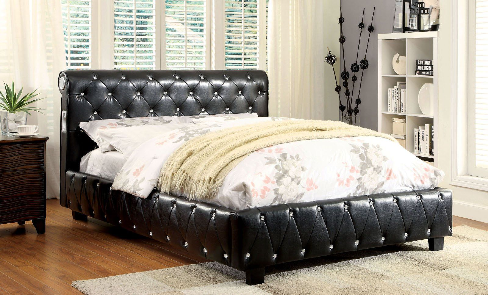 Delicieux ID # IMP CM7056SV Juilliard Collection Technology Invades The Bedroom In  This Unique Contemporary Bed